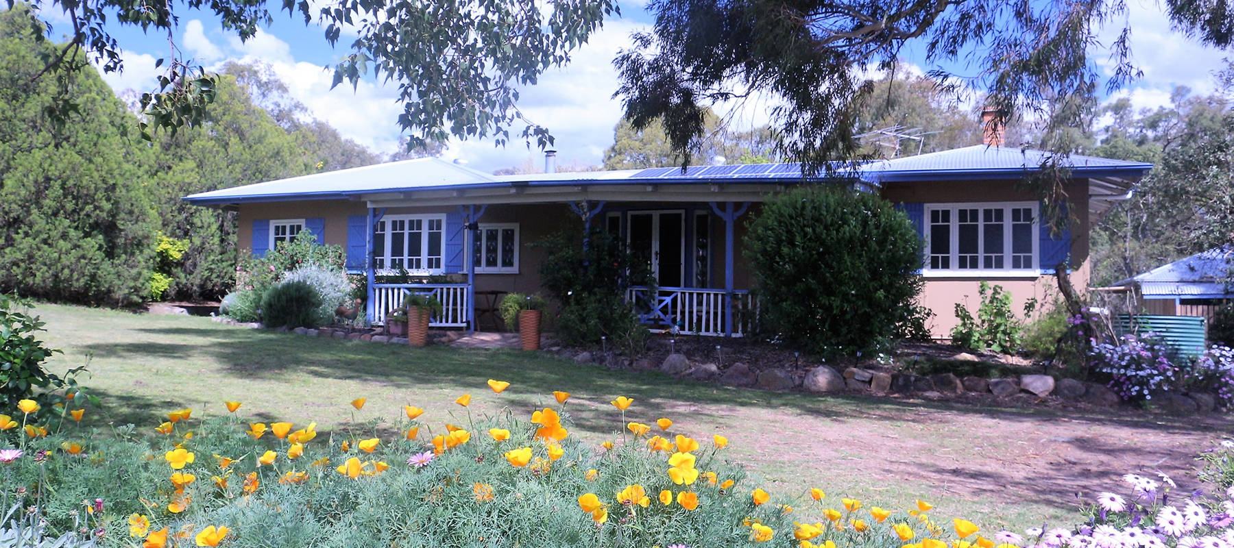 Country farmhouse accommodation