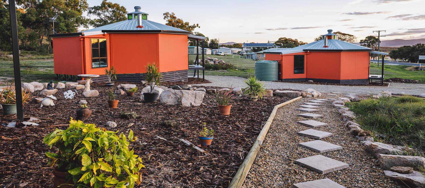 Yurt rental accommodation