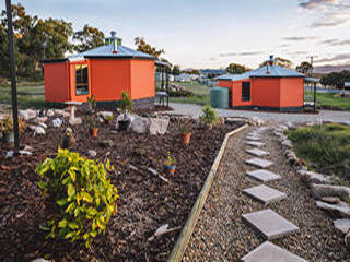 Yurts at James Farmhouse Accommodation